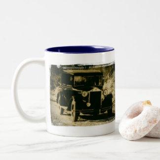 Cars!!! Two-Tone Coffee Mug