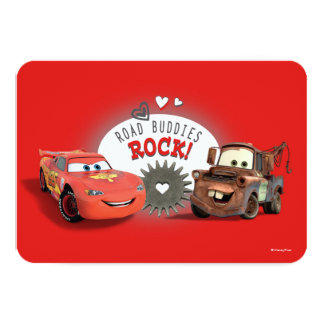 Cars Valentine Card