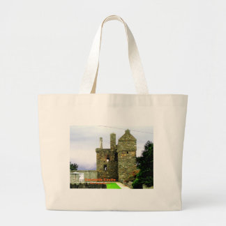 Carsluith Castle -- Clan Broun/Brown Large Tote Bag