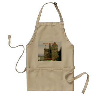 Carsluith Castle -- Clan Broun/Brown Standard Apron