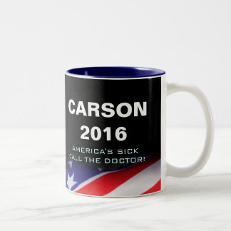 Carson 2016 Call The Doctor Mug