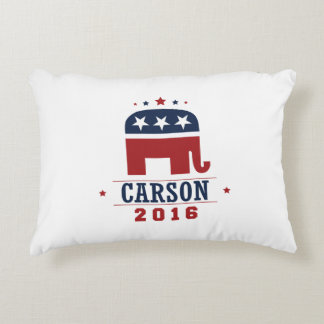 Carson 2016 GOP Elephant Design Accent Pillow