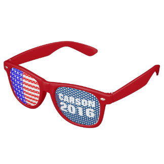 Carson 2016 Presidential Election Campaign Party Shades