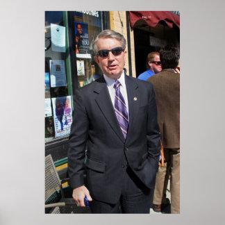 Carson City Mayor Bob Crowell Poster