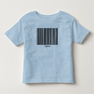 Carson Personalized Functional Barcode Tee