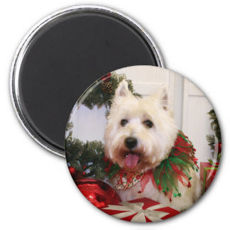 Carson - West Highland Terrier - Rovine Magnet
