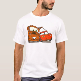 Cars's Lightning McQueen and Mater Disney T-Shirt