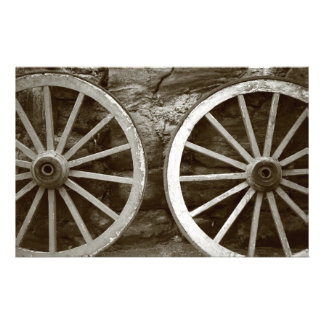 Cart wheels stationery