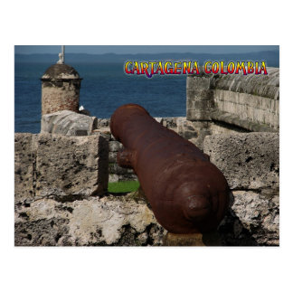 Cartagena Colombia Post Card