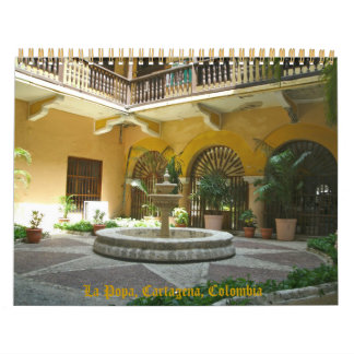 Cartagena, Colombia, South America Wall Calendar