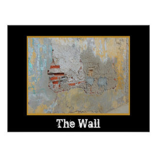 Cartagena - The Wall - Changeable Text Poster