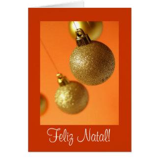 Cartão de Natal Card