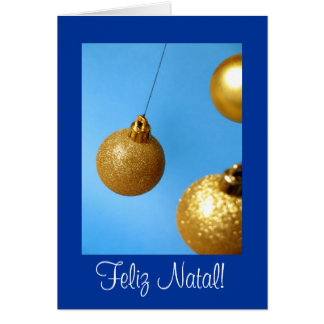 Cartão de Natal Greeting Card