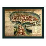 Carte 1691 de Kamianets Podilskyi Carte Postale