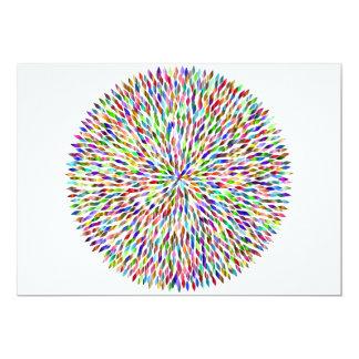 Carte Boule de couleur