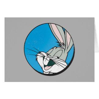 Carte Correction bleue de ™ de BUGS BUNNY rétro