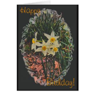 Carte d anniversaire de Jonquil