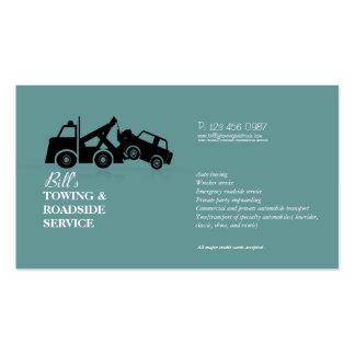 Carte d entreprise de services de naufrageur de bo cartes de visite personnelles
