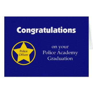 Carte d obtention du diplôme d école de police --