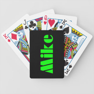 Carte da gioco Mike v.s Gaming Bicycle Playing Cards