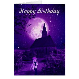 Carte d'anniversaire gothique de Tween