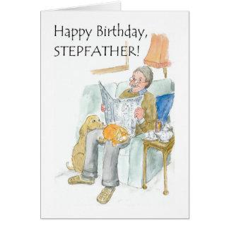 Carte d'anniversaire pour un beau-père