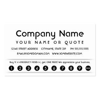 carte d'appréciation de client cartes de visite personnelles