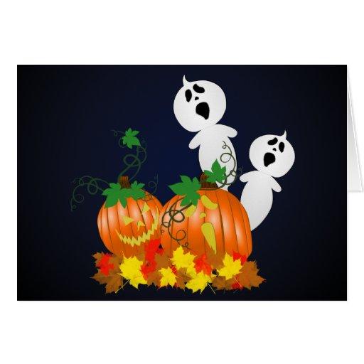 Carte de correction de citrouille de Halloween