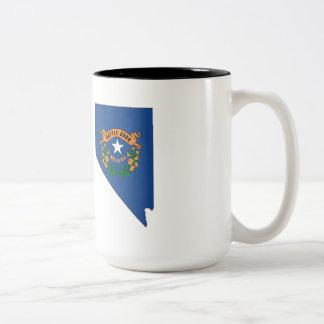 Carte de drapeau d'état du Nevada Tasse À Café