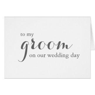 Carte de jour du mariage à toiletter