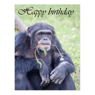 Carte de joyeux anniversaire cartes postales