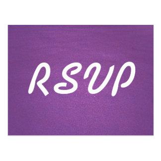 Carte de la lavande RSVP Cartes Postales