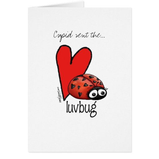 Carte de Madame Lashes Lovebug - de Valentine