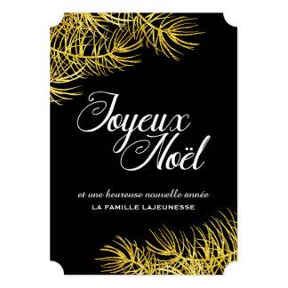 """Carte de Noël 5"""" X 7"""" Invitation Card"""