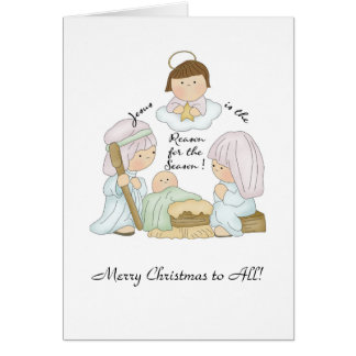 Carte de Noël de Jésus