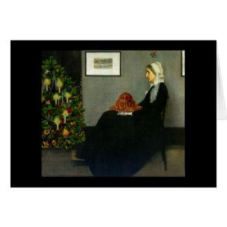 Carte de Noël de la mère de Whistler
