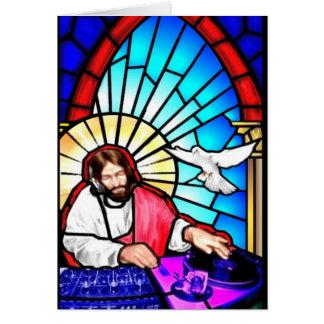Carte de Noël du DJ Jésus