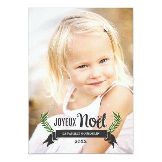 Carte de Noël Élégante Card