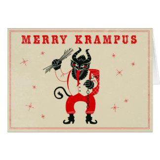 Carte de Noël - Krampus