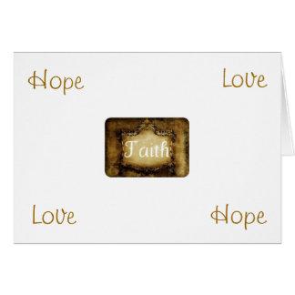 Carte de note de foi par Pâtisseries Poétique de M