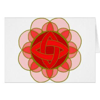 """Carte de note """"équilibrant de racine Chakra"""""""
