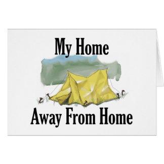 Carte de note non domestique à la maison