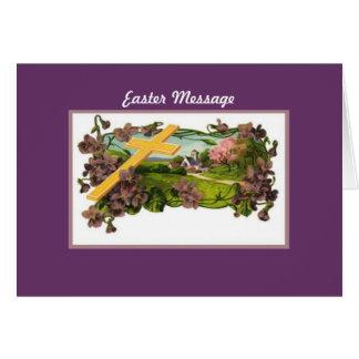 Carte de note - Pâques