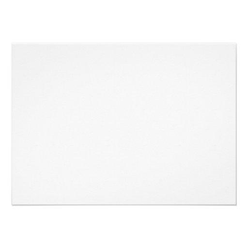 Carte de note plate d'impression de vache invitations