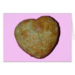 Carte de petit pain d'amour