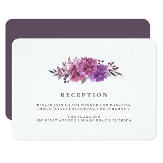 Carte de réception de Boho Botanicals Carton D'invitation 8,89 Cm X 12,70 Cm