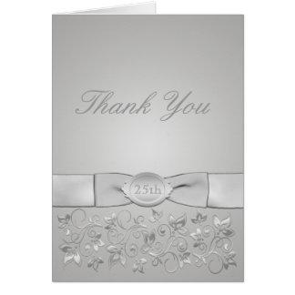 Carte de remerciements d anniversaire de noces d a