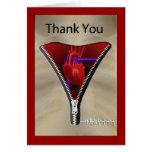 Carte de remerciements de chirurgie cardiaque
