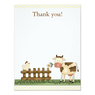 Carte de remerciements doux à la maison 4,25 x 5,5 invitations