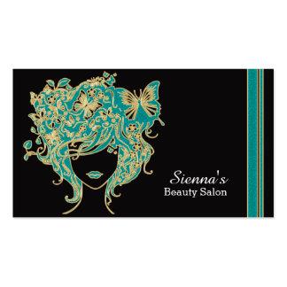 Carte de rendez-vous de coiffeur carte de visite standard